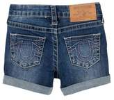 True Religion Boyfriend Shorts (Little Girls)