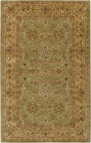 Surya Crowne CRN-6001 Classic Hand Tufted 100% Wool Traditional Area Rug