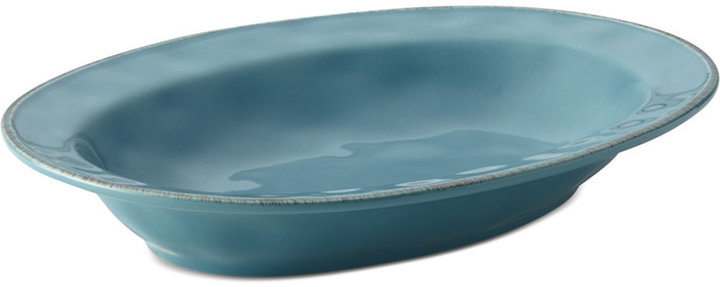 Rachael Ray Cucina Agave Blue Serve Bowl