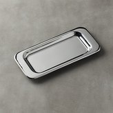 CB2 Au Lait Stainless Steel Rectangular Tray