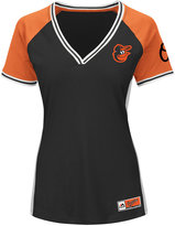 Majestic Women's Baltimore Orioles League Diva T-Shirt