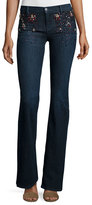 J Brand Jeans Charlotte Embellished Boot-Cut Jeans, Intuitive