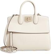 Salvatore Ferragamo The Studio Piccolo Leather Top Handle Bag