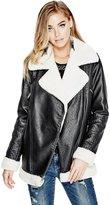 GUESS Lara Longline Moto Jacket