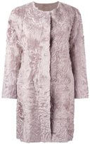 Simonetta Ravizza fur coat - women - Goat Fur/Wool/Viscose/Polyamide - 40