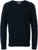 Moncler logo plaque knitted jumper