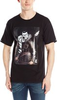 Crooks & Castles Men's Knit Crew T-Shirt Juxtaposed Criminal