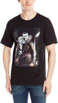 Crooks & Castles Men's Knit Crew T-Shirt Juxtaposed Criminal