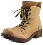 Coolway Brooks Women Round Toe Leather Tan Boot.
