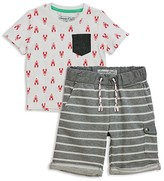 Sovereign Code Boys' Trav + Su-Bin Tee & Shorts Set - Baby