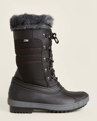 Pajar Black Debby Mid-Calf Waterproof Snow Boots