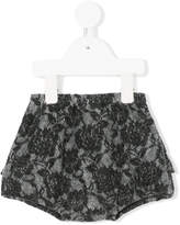 Douuod Kids floral embroidered shorts