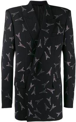 Balenciaga 80's Shoulder Jacket