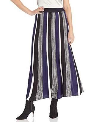 BB Dakota Junior's Can't Knit with us Striped Sweater Skirt