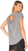 Rag & Bone Highland Drape Back Tee