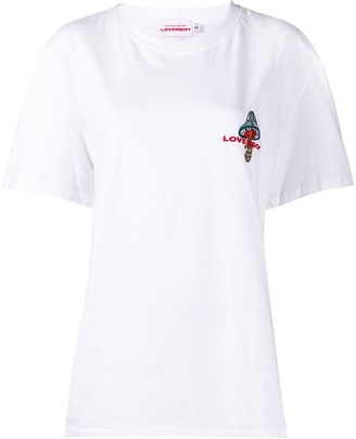 Charles Jeffrey Loverboy back print logo T-shirt