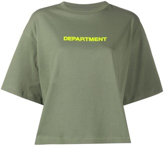 DEPARTMENT 5 Department print T-shirt