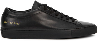 Common Projects Original Achilles Black Leather Sneakers