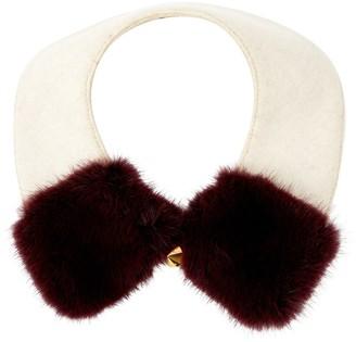 Fendi Ecru Wool Scarves