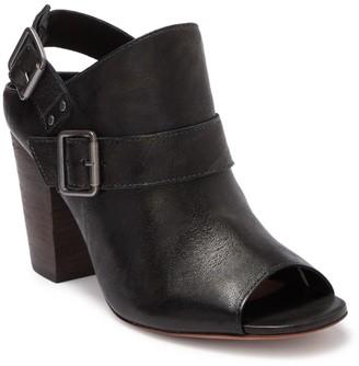 Trask Miriam Stacked Heel Sandal