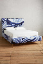 Anthropologie Shibori-Printed Edlyn Bed