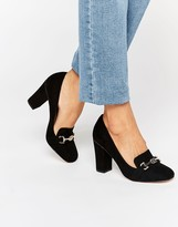 Asos PROVIDER Heeled Loafer