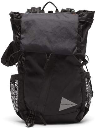 And Wander - X-pac Ripstop And Mesh Backpack - Mens - Black