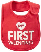 "Carter's Baby My First Valentine's"" Graphic Bib"