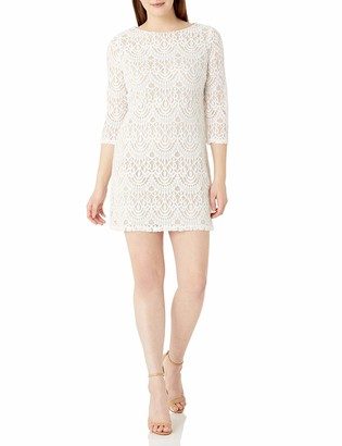 Ronni Nicole Women's 3/4 Sleeve Lace Sheath