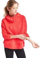 Gap Jacquard pullover hoodie