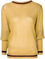 Miahatami long puffed sleeve top
