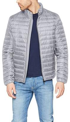 Geox Man Down Jacket, Jacket for Men, Gray (Alloy Gray F1448)