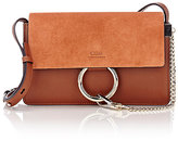 Chloé Women's Faye Small Shoulder Bag-Brown