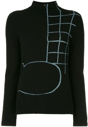Onefifteen Embroidered Knit Sweater
