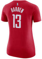 Nike Women's James Harden Houston Rockets Name & Number Player T-Shirt