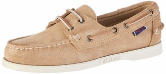 Sebago DOCKSIDES Men's Boat Shoes Brown / sand suede 7.5 UK(41.5 EU)