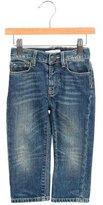 Burberry Boys' Faded Wash Straight-Leg Jeans