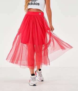 adidas Women's Layered Tulle Skirt