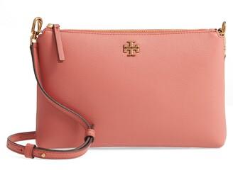 Tory Burch Kira Pebbled Leather Wallet Shoulder Bag