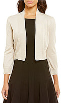 Calvin Klein Lurex Metallic Shrug