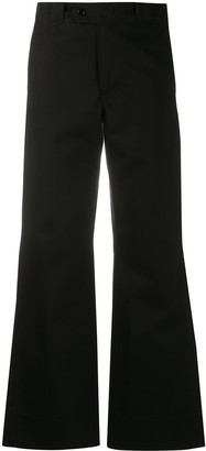Barena High-Waisted Flared Trousers