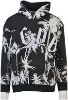 Golden Goose Deluxe Brand Palm Print Hoodie