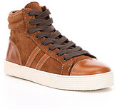 Kenneth Cole New York Boys Jay Top Hi-Top Sneakers