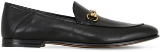 Gucci Brixton Horsebit Soft Leather Loafers