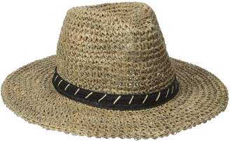 San Diego Hat Company San Diego Hat Co. Men's 3 inch Brim Crown Crochet Straw Sun Packable