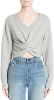 Alexander Wang Women's Twist Front Wool & Cashmere Sweater