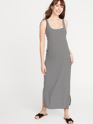 Old Navy Maternity Side-Slit Maxi Tank Dress