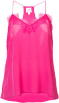 Cami - lace detail cami - women - Silk - XS
