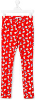 Little Marc Jacobs popcorn print trousers - kids - Cotton/Spandex/Elastane - 14 yrs