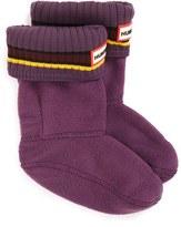 Hunter Toddler Buoy Stripe Cuff Welly Socks